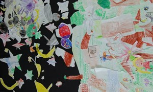 Artwork by Builth Wells Primary School