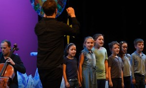 Carreghofa Primary School Soloists at One Small Step