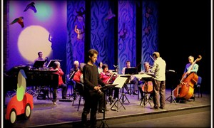"""Night fell …"" The Story of Babar narrated by Sam Glazer with the musicians of Mid Wales Chamber Orchestra"